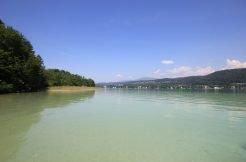 Traumhaftes Seegrundstück am türkisblauen Wörthersee