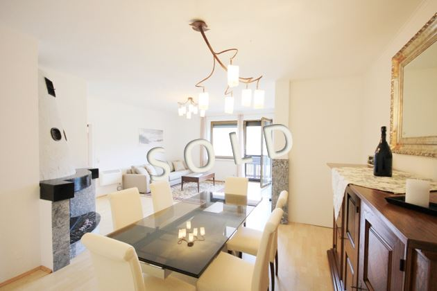 SOLD – Beautiful apartment with balcony and panoramic view over the lake Ossiacher See
