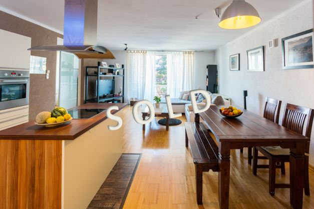 SOLD! Beautiful apartment with balcony