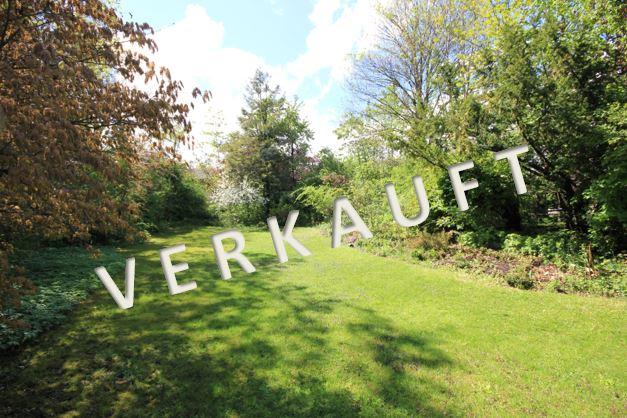 VERKAUFT – Wunderschönes, idyllisches Baugrundstück in Stadtparknähe