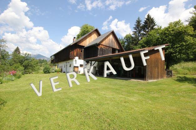VERKAUFT – Kleine Landwirtschaft mit Bauernhaus in traumhaft schöner Allein-Aussichtslage