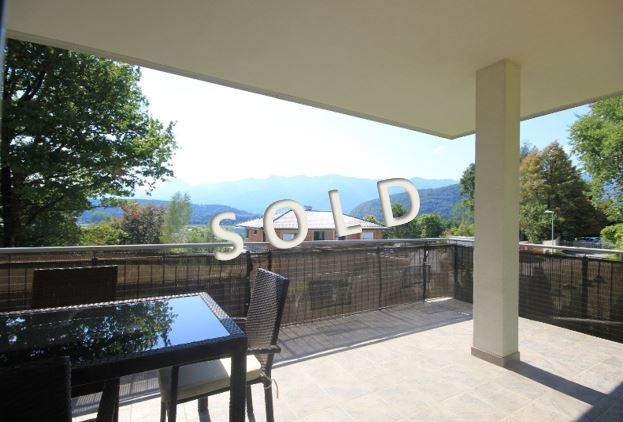 SOLD – New apartment with two bedrooms and big balcony with panoramic view