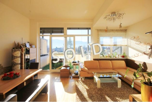 SOLD – New modern-style penthouse with big sunny terrace