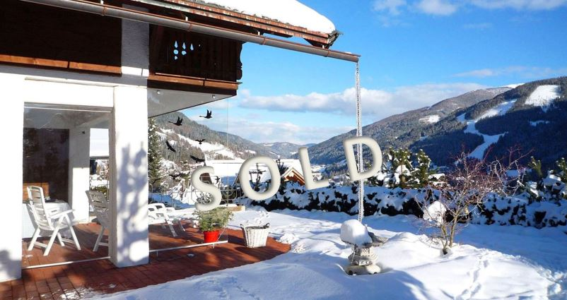 SOLD-Beautiful villa with a fabulous view over Bad Kleinkirchheim