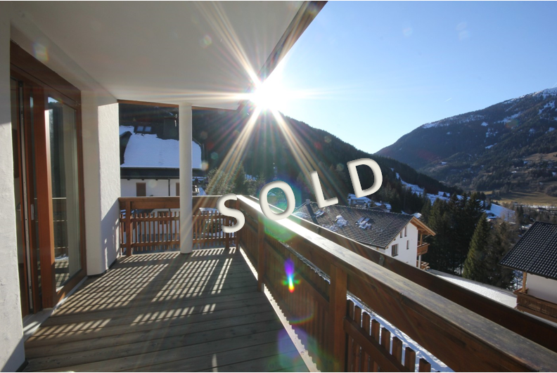 SOLD – Beautiful apartment with two balconies in a nice residence in Bad Kleinkirchheim