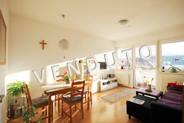 VENDUTO – Nuovo appartamento con balcone e posto auto nel garage