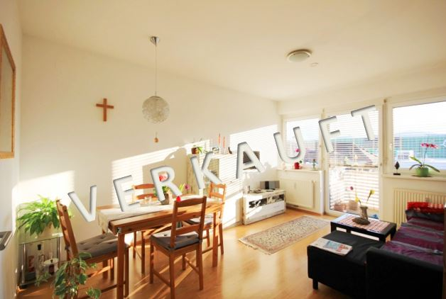 VERKAUFT – Anlegerwohnung vermietet! Neuwertige Wohnung mit Balkon und Tiefgarage