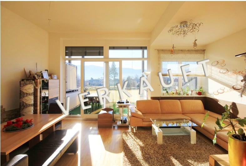VERKAUFT – Neuwertige Penthousewohnung mit überdachter Südterrasse