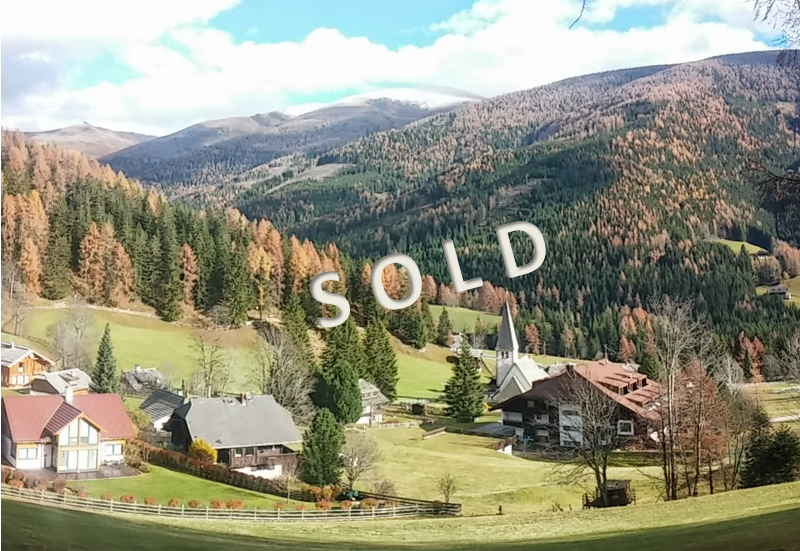 SOLD – Big plot in idyllic position with beautiful view