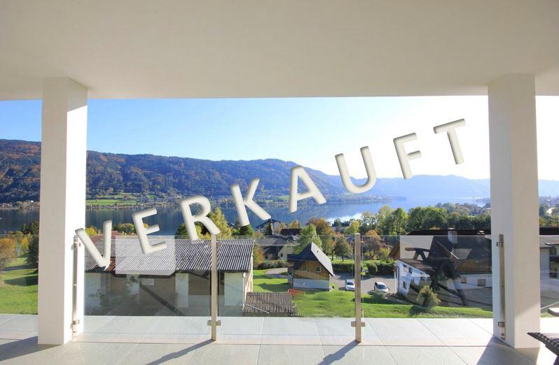 VERKAUFT – Neues Niedrigenergiehaus in herrlicher Seeblicklage am Ossiacher See