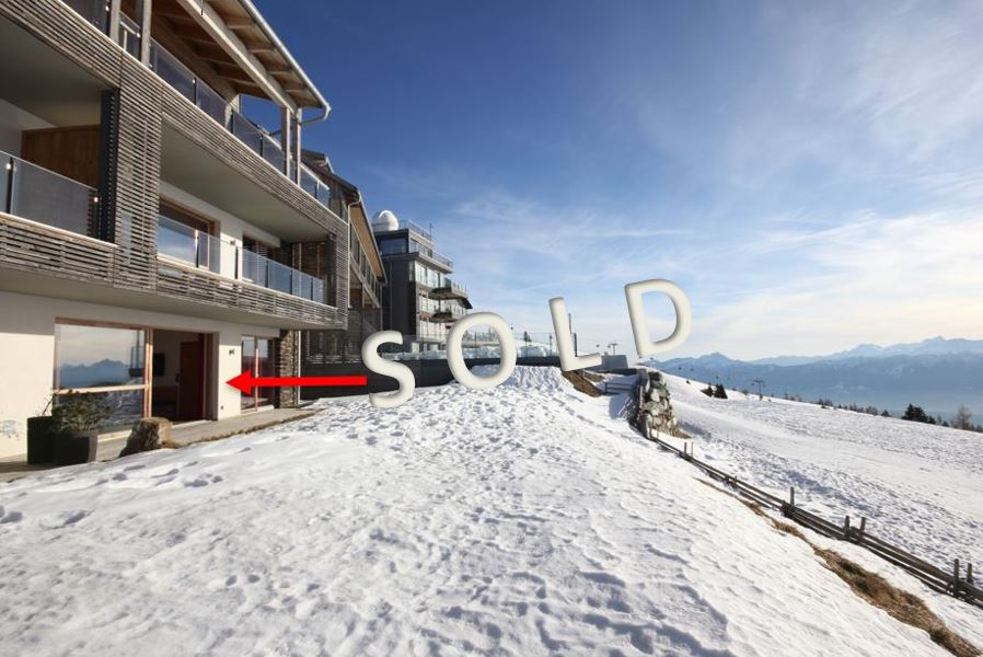 SOLD – Modern holiday-apartment with sunny terrace on top of the mountain Gerlitze