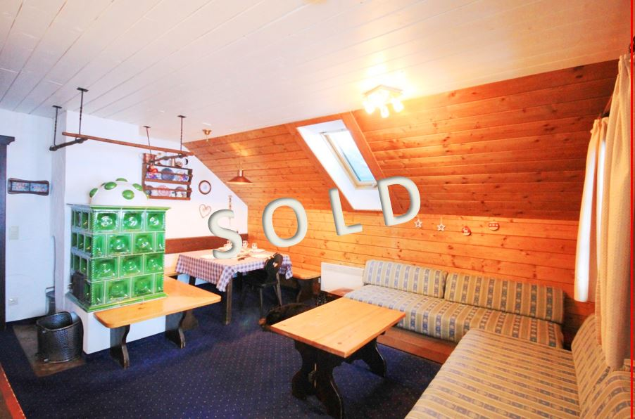 SOLD – Ski-in ski-out apartment in quiet position on the mountain Nassfeld
