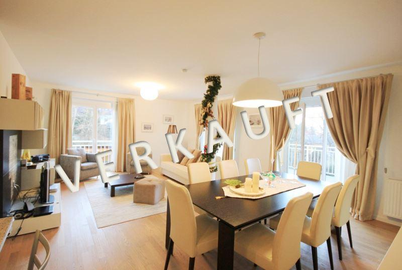VERKAUFT – Elegante 4-Zimmer-Seeblickwohnung mit überdachter Terrasse