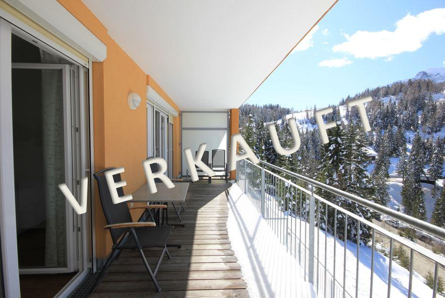 VERKAUFT-Exklusives Ferienappartement mit Sauna und Aussichtsbalkon an der Sonnenalpe Nassfeld
