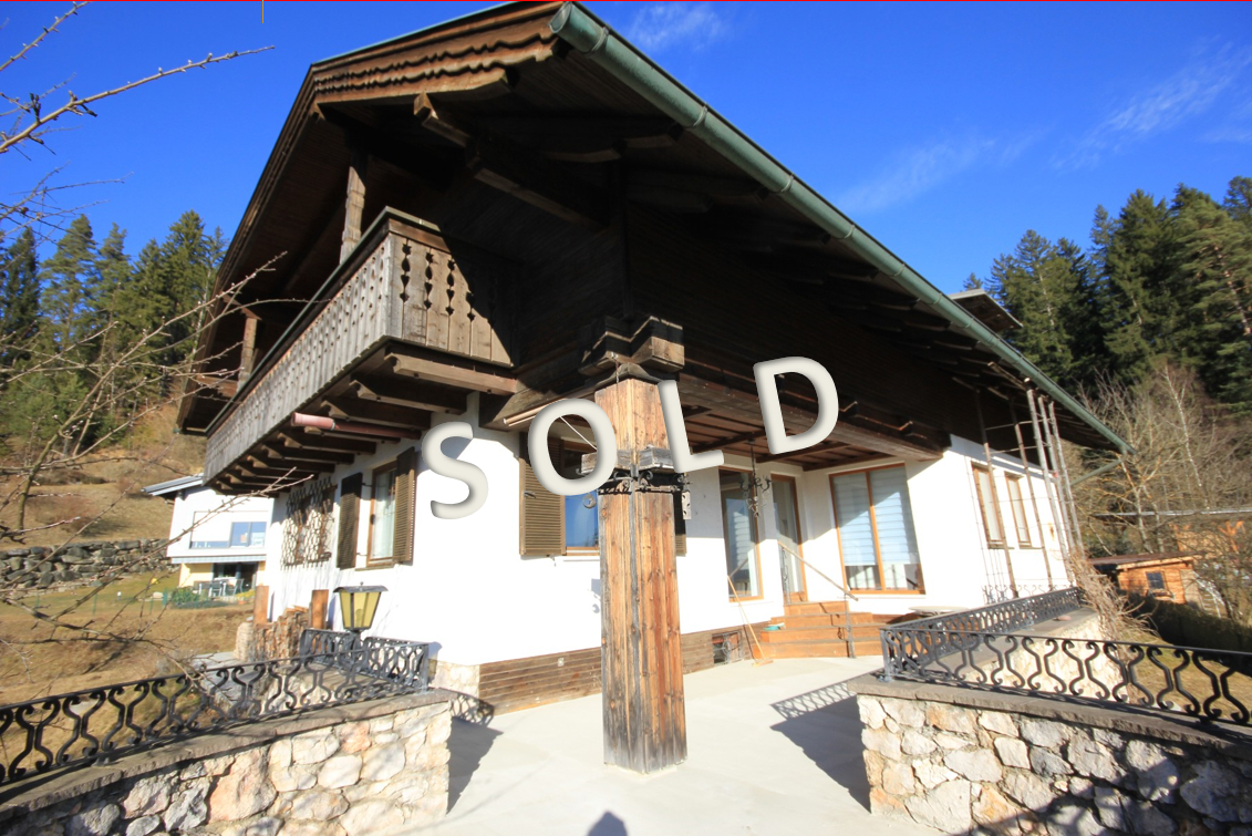 SOLD – Charming house with absolutely fantastic view over the surrounding landscape