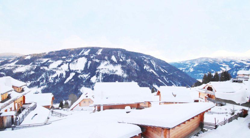 Aussicht Dorf