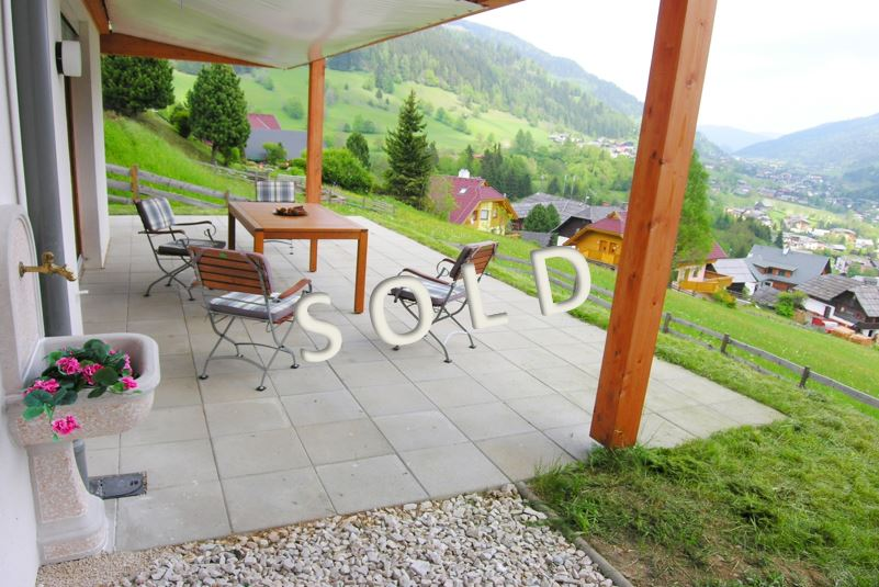 SOLD – Beautiful Apartment with big terrace and garden and wonderful view
