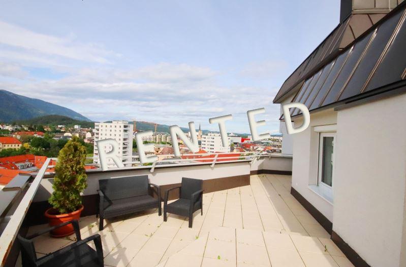 RENT – Schönes 4-Zimmer-City Penthouse mit großer Terrasse
