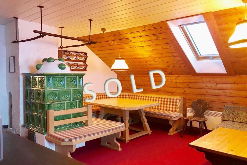 SOLD – Gemütliches Ski-in Ski-out Appartement