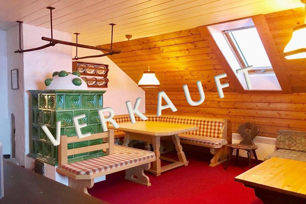 VERKAUFT – Gemütliches Ski-in Ski-out Appartement