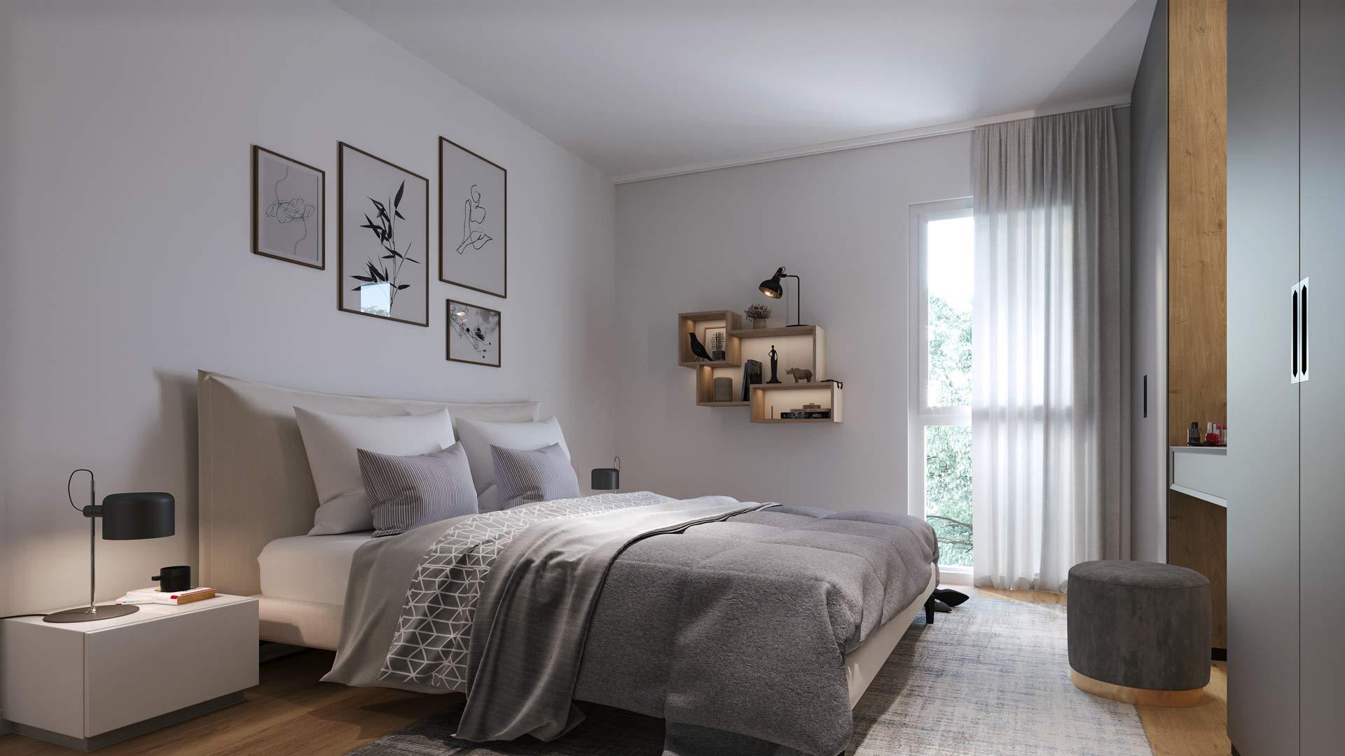 Neubauprojekt – Hochwertige 2-Zimmer-Vorsorgewohnung mit Loggia/Balkon in Villach