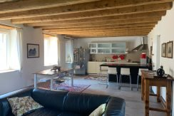 Wohnzimmer mit Essbereich und open Space Küche
